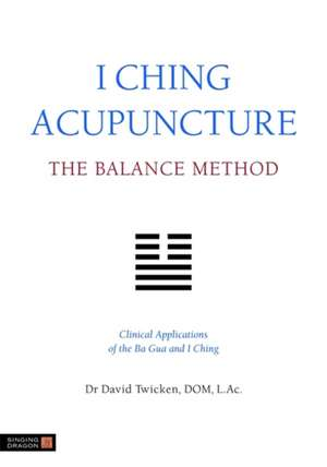 I Ching Acupuncture:  Clinical Applications of the Ba Gua and I Ching de David Twicken