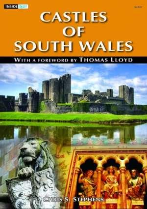 Inside out Series: Castles of South Wales de Chris S. Stephens