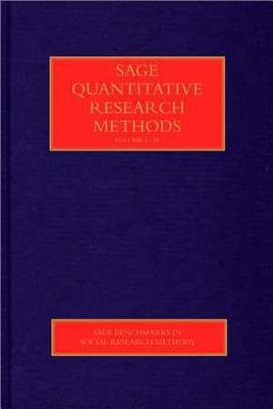 SAGE Quantitative Research Methods de W. (William) Paul Vogt