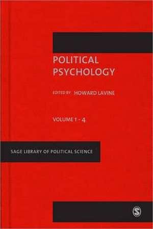 Political Psychology de Howard Lavine