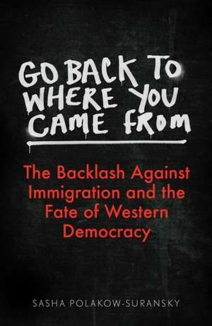 Polakow-Suransky, S: Go Back to Where You Came From imagine