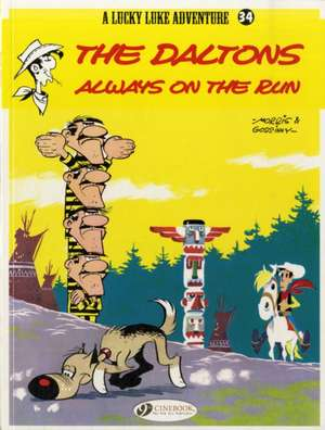 Lucky Luke Vol.34: The Daltons Always On The Run