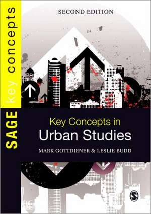Key Concepts in Urban Studies de Mark Gottdiener