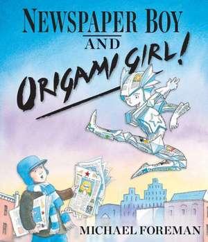 Newspaper Boy and Origami Girl!