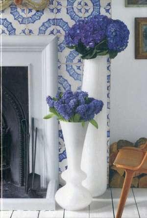 Jane Packer Blue & White Writing Set