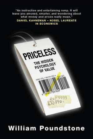 Priceless de William Poundstone