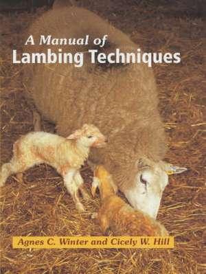 A Manual of Lambing Techniques de Agnes C. Winter