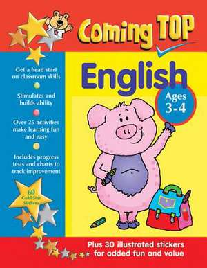 Coming Top English Ages 3-4