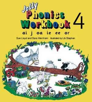 Jolly Phonics Workbook 4 imagine