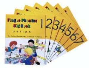 Finger Phonics Big Books 1-7 de Sara Wernham
