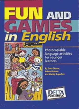 Fun and Games in English Book de Carla Chaves