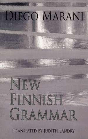New Finnish Grammar de Diego Marani