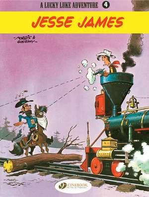 Lucky Luke Vol.4: Jesse James