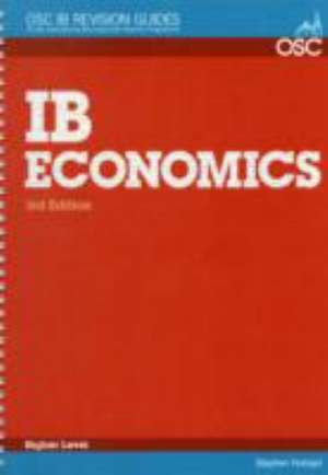 IB Economics Higher Level