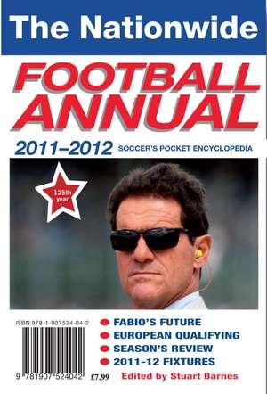 2011-2012 Nationwide Football Annual de Stuart Barnes