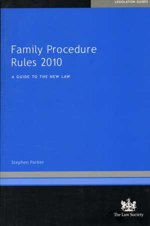 Family Procedure Rules 2010