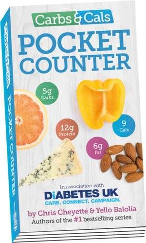 Carbs & Cals Pocket Counter de CHRIS CHEYETTE