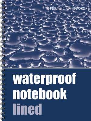 Waterproof Notebook Lined de . .