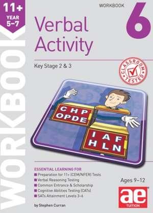 11+ Verbal Activity Year 5-7 Workbook 6