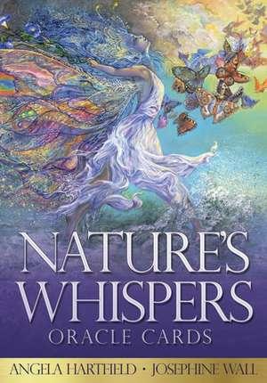 Nature'S Whispers Oracle Cards de Angela (Angela Hartfield) Hartfield