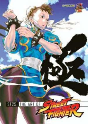 SF25: The Art of Street Fighter de Capcom
