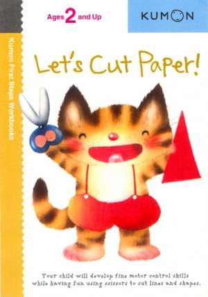 Let's Cut Paper! de  Kumon Publishing