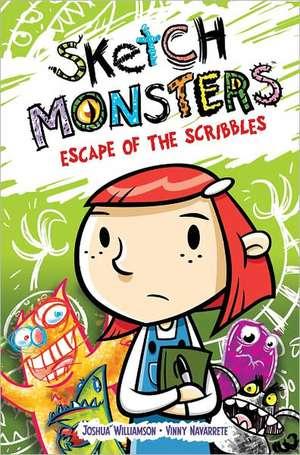 Sketch Monsters Book 1: Escape of the Scribbles de Joshua Williamson