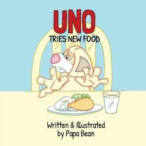 Uno Tries New Food de Papa Bean
