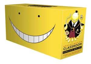 Assassination Classroom Complete Box Set: Includes volumes 1-21 with premium de Yusei Matsui