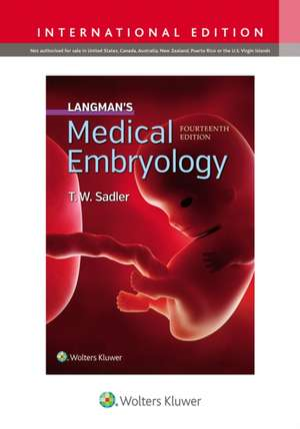 Langman's Medical Embryology imagine