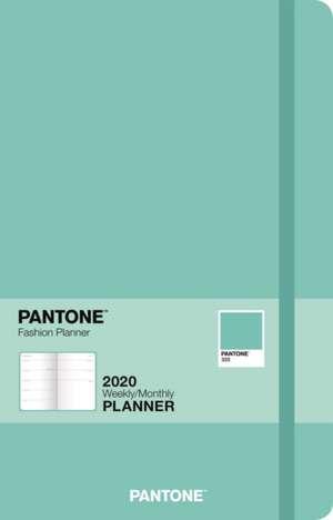 PANTONE PLANNER 2020 COMPACT GLACIER BLU de BROWNTROUT US