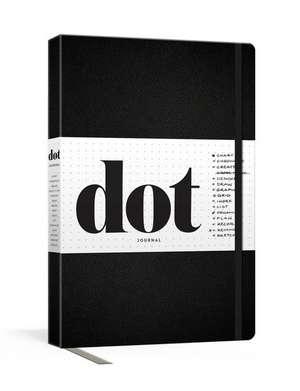 Dot Journal (Black) de Potter Gift