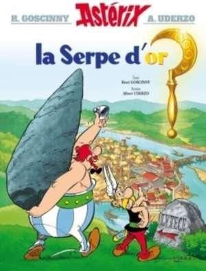 Asterix Französische Ausgabe 02. La serpe d'or de Rene Goscinny