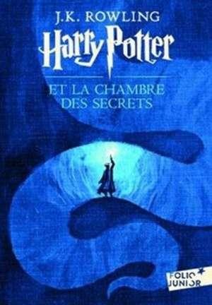 Harry Potter 2 et la chambre des secrets de J. K. Rowling