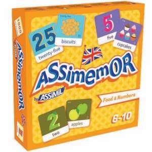 Assimemor Food & Numbers de Assimil
