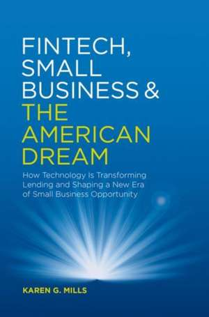 Fintech, Small Business & the American Dream imagine