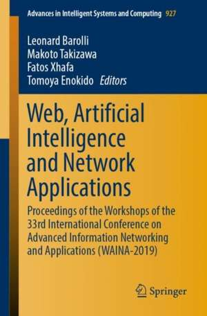 Web, Artificial Intelligence and Network Applications imagine