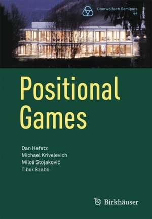 Positional Games de Dan Hefetz