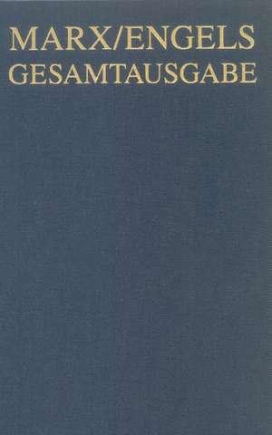 Karl Marx / Friedrich Engels Gesamtausgabe (MEGA), BAND 13, Karl Marx: Das Kapital. Kritik der politischen OEkonomie. Zweiter Band. Hamburg 1885