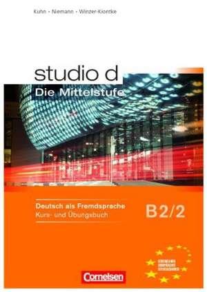 studio d 2 - Mittelstufe. Kurs- und UEbungsbuch