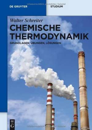 Chemische Thermodynamik: Grundlagen, Übungen, Lösungen de Walter Schreiter