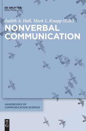 Nonverbal Communication de Judith A. Hall