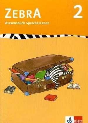Zebra 2 . Wissensbuch