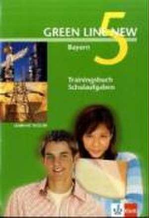 Green Line New 5. Trainingsbuch Schulaufgaben, Heft mit Audio-CD. Bayern