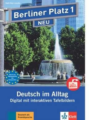 Berliner Platz 1 NEU Tafelbilder fuer Interactive Whiteboards - 32 Tafelbilder - interaktive PDFs - Portfolio