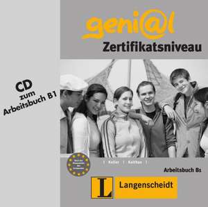 geni@l B1 - Audio-CD zum Arbeitsbuch B1