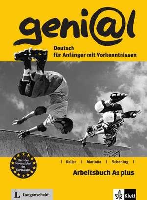 geni@l A1 plus - Arbeitsbuch A1 plus mit Audio-CD