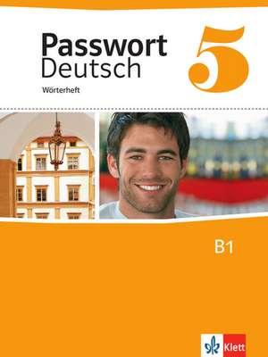 Passwort Deutsch 5. Woerterheft