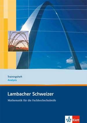 Lambacher Schweizer fuer die Fachhochschulreife. 11. und 12. Schuljahr. Trainingsheft Analysis