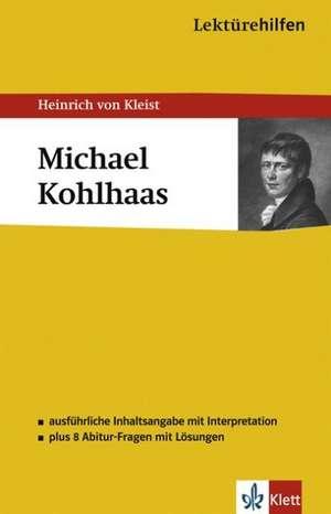 Lektuerehilfen Michael Kohlhaas